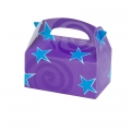Purple with Blue Stars Empty Favor Boxes (4)